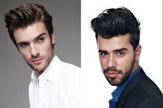 Consigue el look más moderno con tupé y barba