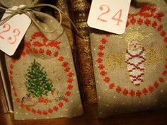 Finally, this is the cross stitch advent calendar I want to make!
