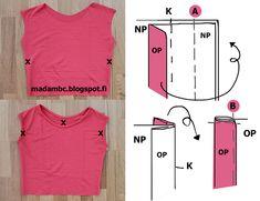 Madam B.C.: Tee-se-itse: Ompele mekko osa 2. Projects To Try, Tees, T Shirts, Teas, Shirts
