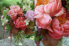 Pink peony arrangement :)