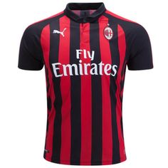 18cdeb257 PIATEK Krzysztof Milan uomo jersey Casa Home Shirt Stagione 2018 19 Puma  Mens