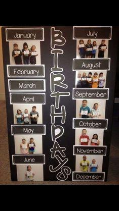 Helps keep track of all those birthdays
