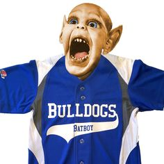 No not that Babboy! Make your aspiring little leaguer's game with his very own Batboy jersey. Customize this baseball jersey with your own message, team, whatever. Sports Jerseys, Baseball Jerseys, Game, Jackets, Color, Down Jackets, Baseball Shirts, Colour, Baseball Uniforms