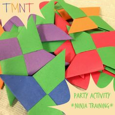 Enter the Hashi!  Teenage Mutant Ninja Turtles Game.  Perfect for a TMNT themed party.
