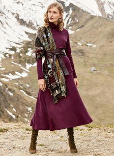 Pima Cotton Flared Skirt - New Markdowns - Sale Black Flare Skirt, Flared Skirt, Chiffon Skirt, Böhmischer Rock, Bohemian Skirt, Loose Fitting Tops, Sweatshirt Dress, Skirt Pants, Aesthetic Clothes