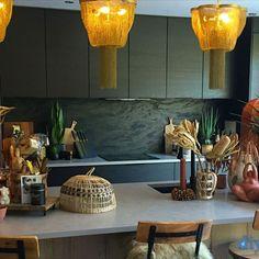 An Innova Cento Black Ash Modern Kitchen