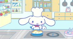 ANIMATED GIF - Sanrio cuteness! (。・_・。)