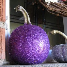 Earlier in the week I found some glittery pumpkins on Pinterest that just about knocked my socks off! I must make some glitter pumpkins of my own this year, so I wanted to find some tips on how to go about it. A bit of ...