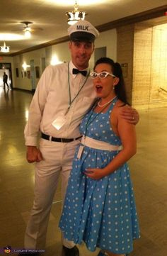 50's Housewife & the Milkman - 2012 Halloween Costume Contest