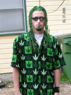 I'd say he REALLY likes weed
