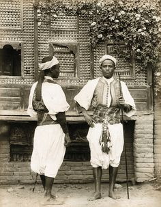 Pascal Sebah - Egyptian Sentries, ca 1880