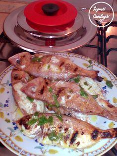 pesce mormora padella, secondi piatti pesce, pesce mormora arrostito, pesce mormora con il magic cooker, pesce mormora padella, ricetta pesce mormora padella, ricette pesce mormora, secondi piatti pesce