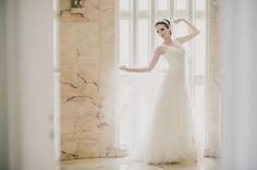 Noiva Bailarina Vestido de Noiva: Carla Gaspar