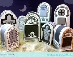 halloween tombstones candy box party favor par claudinehellmuth