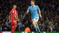 Kevin de Bruyne salvages late victory for Man City