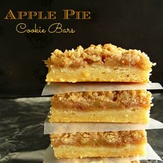 Move over Christmas! Thanksgiving's got some pretty yummy cookies too, like these Apple Pie Cookie Bars! #QVCholiday