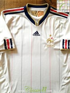 e01bcb390f Official Adidas France away football shirt from the 2010 2011 international  season.