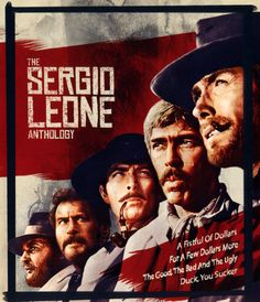 Shop The Sergio Leone Anthology [Blu-ray] at Best Buy. Find low everyday prices and buy online for delivery or in-store pick-up. Lee Van Cleef, Clint Eastwood, Sergio Leone, Movie Poster Art, Film Serie, Movie Tv, Cool Things To Buy, Apple Tv, Hand Guns