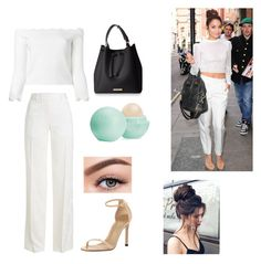 """""""Untitled #123"""" by cazacubianca on Polyvore featuring Alexander McQueen, Victoria Beckham, Stuart Weitzman, Eos and Morphe"""