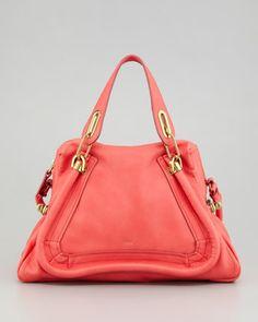 Paraty Medium Shoulder Bag, Paradise Pink - Neiman Marcus