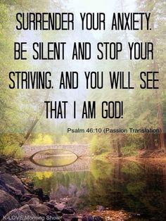 Surrender all...