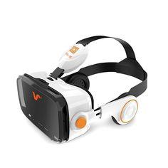 VOX PLUS 3DVR goggle earphone VOX PLUS BE Black 6.2 inches #VOXPLUS