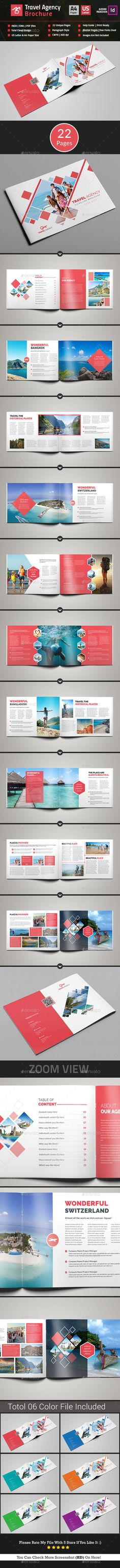 Travel Agency Brochure Catalog Template InDesign INDD. Download here: http://graphicriver.net/item/travel-agency-brochure-catalog/16888657?ref=ksioks
