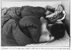 Sophie Calle, Les Dormeurs, 1979. Vue d'installation (détail), Collection JMS, Paris, © Adagp, Paris 2007