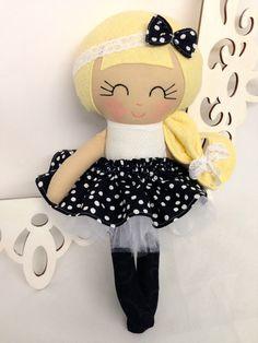 Muñeca de trapo muñecas muñeca hecha a mano muñeca de la