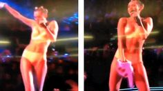 THERE'S awards ceremony shock value and then there's Miley Cyrus.