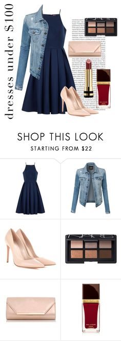 """Navy Blue 💙"" by lizabeth-rose ❤ liked on Polyvore featuring Oris, Chi Chi, LE3NO, Alexander McQueen, NARS Cosmetics, Dorothy Perkins, Tom Ford and Gucci"