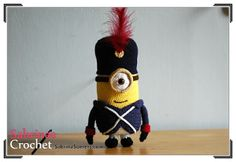 Amigurumi Minion in French Army Costume - FREE Crochet Pattern / Tutorial