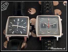 TAG Heuer Monaco and vintage Heuer Monaco