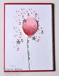 Balloon Celebration by Stampin' Up! - #GDP015 - Bedlam and Butterflies