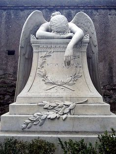The Angel of Grief, sculpted by William Wetmore Story for his wife's gravestone, 1894.