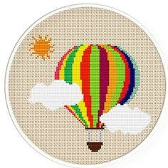 Shop for cross stitch pattern on Etsy, the place to express your creativity through the buying and selling of handmade and vintage goods. Cross Stitch For Kids, Cross Stitch Love, Modern Cross Stitch, Cross Stitch Charts, Cross Stitch Designs, Cross Stitch Patterns, Broderie Simple, Diy Broderie, Cross Stitching