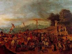 Pieter the Younger Brueghel Crucifixion painting is shipped worldwide,including stretched canvas and framed art.This Pieter the Younger Brueghel Crucifixion painting is available at custom size. Crucifixion Painting, Kunsthistorisches Museum, Pieter Bruegel, The Last Laugh, Sculpture, African History, Museum Of Fine Arts, Bosch, Cops