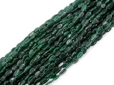 Full 13 Inch X 5 Strand Green Aventurine Oval Shape Smooth Beads 8X13 mm Approx Gemstone Bead Strand Free SHIPPING WORLD Wide. by Sunrisegemstone on Etsy