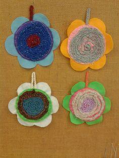 Kuvahaun tulos haulle askartelu alkuopetus syksy Diy Crafts For School, Crafts To Do, Easy Crafts, Crafts For Kids, Arts And Crafts, Paper Crafts, Weaving For Kids, Waldorf Crafts, Spring Art