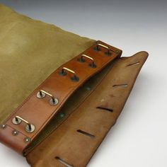 Bentleys — US Canvas and Leather Mail Bag Leather Art, Leather Gifts, Leather Bags Handmade, Leather Tooling, Canvas Leather, Leather Factory, Leather Workshop, Leather Pattern, Leather Projects