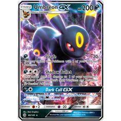 Pokemon TCG Sun and Moon Ultra Rare 80/149 Umbreon GX Singles Unplayed NM