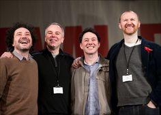 The Leagie of Gentlemen: Left to Right: Jeremy Dyson, Steve Pemeberton, Reece Shearsmith, and Mark Gatiss.
