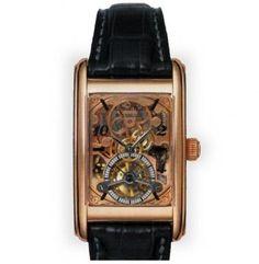 Men's Audemars Piguet Edward Piguet Skeleton dial, 18K Rose Gold bezel