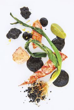 Poached Lobster with Charred Leeks & Bay Leaves | Daniel Humm, Eleven Madison Park