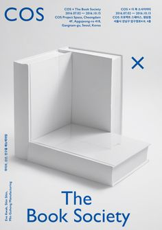 COS has teamed up with Seoul-based publishing project, The Book Society. Poster Layout, Print Layout, Book Layout, Book Cover Design, Book Design, Page Design, Layout Design, Magazine Cover Layout, Instagram Feed Ideas Posts