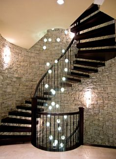 This beautiful stairway was created by Rize Stairs Ltd | San Francisco, CA | 604.732.0741