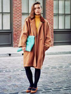 American Apparel - Unisex Long Wool Coat