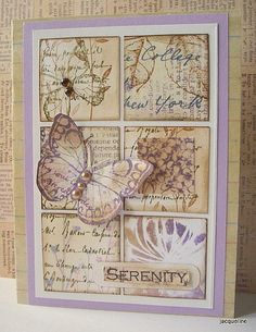 "Jacqueline.fr... Good idea for a ""with Sympathy"" type card"
