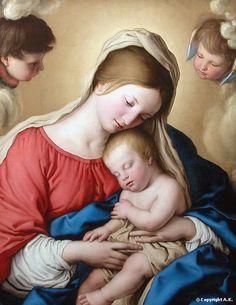 Il sonno del Bambino Gesù, XVII sec., musée du Louvre, Parigi