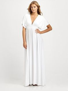 Melissa Odabash  Francesca Open-Back Maxi Dress at Saks.